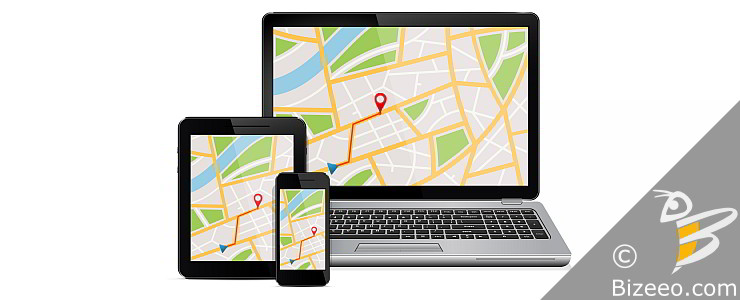 Mobile Website Design in Montgomery, AL - map driving directions on mobile devices