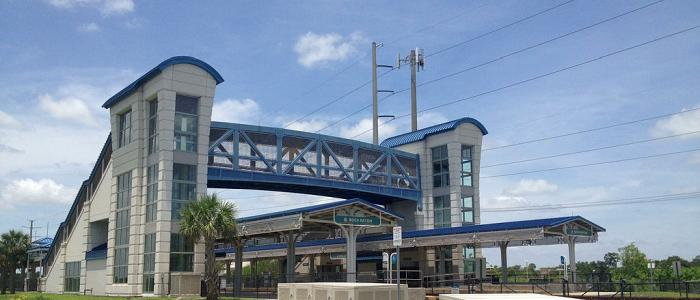 Branding Agency in Boca Raton, FL - photo of Tri-Rail Station in Boca Raton