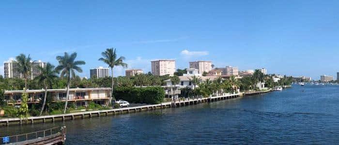 Digital Marketing in Boca Raton, FL - photo of Intracoastal waterway in Boca Raton