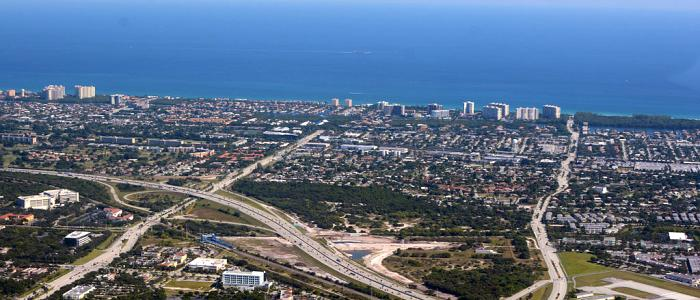 Inbound Marketing in Boca Raton, FL - Aerial Photo of North Boca Raton, Florida