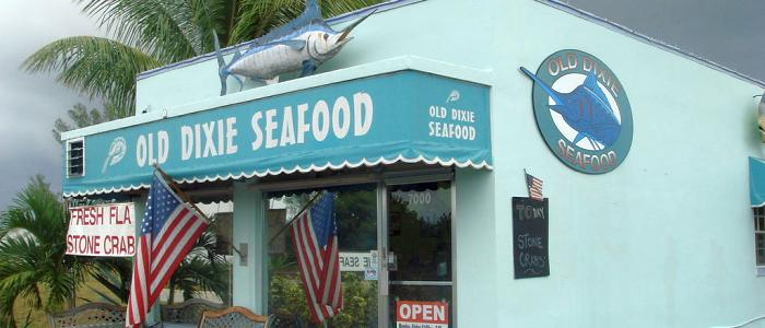 Mobile Marketing in Boca Raton, FL - photo of Old Dixie Seafood restaurant in Boca Raton