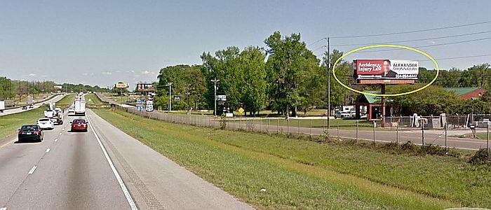 Call Me Alabama! Alex Shunnarah billboard near Montgomery, Alabama