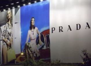 Billboard Advertising for Prada